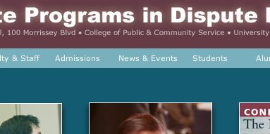 Graduate Programs in Dispute Resolution
